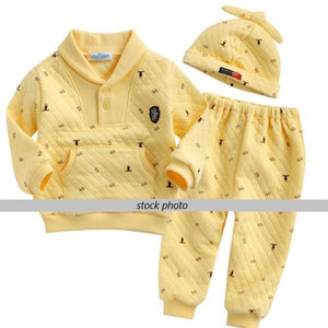 Other - 3-piece outfit (with hat) for infants, quilted
